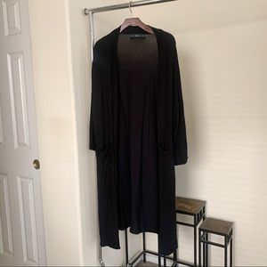 Zara Long Kimono Style Cardigan.